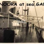 MANOORA at sea. GA0986.