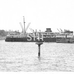 MANUNDA 1929-1957, outbound with ferry LADY CARRINGTON. SHF.