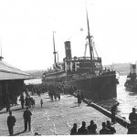 MARELLA 1914-1954, leaves 10 Walsh Bay July 7, 1934. SHF Col
