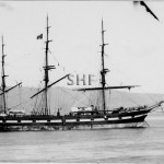 MARGARET GALBRAITH at anchor. SHF Coll.