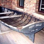 MAY-BELLE, Maytown Ferry (iron), Cooktown Museum. 1996.