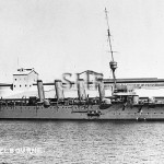 MELBOURNE HMAS, 1913-1928. as built. SHF Coll.