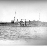 MELBOURNE HMAS, 1913-1928. in Farm Cove. SHF Coll.