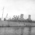 MOOLTAN 1923-1954 as troop ship WW2. SHF Coll.