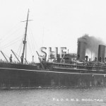 MOOLTAN 1923-1954, outbound c. 1925. SHF Coll.