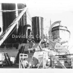 MOOLTAN, boat deck,Aug 3,1950. Davidson File 55.