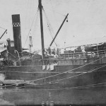 MORESBY 1881-sunk 1916.postcard. SHF Coll.
