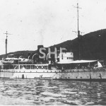 MORESBY HMAS, 1918,ex HMS SILVIO 1925, scrap 1947, as surve