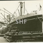 MORETON BAY 1921-1957. Working cargo.SHF Coll.