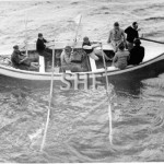 MSB pilot boat with Pilots, c.1950. SHF Coll.