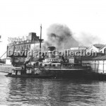 MULUBINBA with steam lighter, May 30, 1955. File 22.