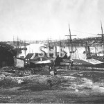 Morts Dock, 1870. SHF Coll.