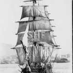 NATAL QUEEN, 1866-1909, outbound Hobart. SHF Coll.
