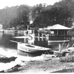 NELLIE 1877-c.1900 at Mosman Bay. SHF Coll.