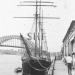 NEW ENDEAVOUR ex DANA 1919, at 3 Sydney Cove, c. 1968.SHF Co