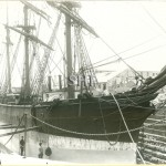 ONYX in Port Chalmers dock, SHF Coll.