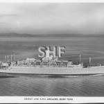 ORCADES 1948-1973, postcard, speed trials. SHF Coll.