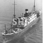 ORMISTON 1922, ex FAMAKA, 1927, 1957. Sydney outbound, SHF
