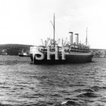 ORMONDE 1929-1973, outbound Sydney, SHF Coll.