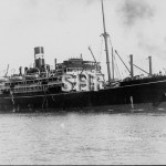 ORUNGAL 1923, ex FAZAKA 1927, burnt out 1940. SHF Coll.