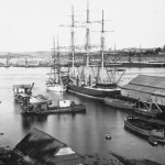 PATRIACH at Campbells Wharf, Sydney Cove. SHF Coll.