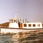 PELICAN, c. 1947. ex PWD 34ft.launch.SHF Coll.