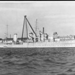 PERTH HMAS, ex HMS AMPHION,1934-1942, March 31, 1940.SHF Col