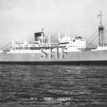 PORT VINDEX 1944, as HMS, postcard.SHF Coll.