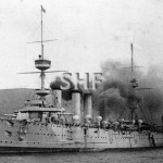 POWERFUL HMS, 1897-1929.@ anchor. SHF Coll.