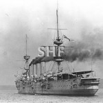 POWERFUL HMS, 1897-1929.Port quarter. SHF Coll.