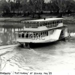 PRIDE OF THE MURRAY, turning @ Echuca, 1983.