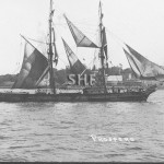 PROSPERO 1862, sail, Sydney-based hulk after 1916. SHF Col