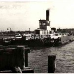 Punt. Williamstown car ferry, Melbourne. c. 1970s.