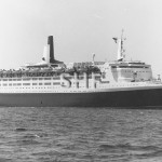 QUEEN ELIZABETH 2, 1968 as built. SHF Coll.