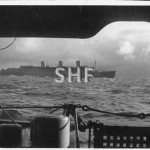 QUEEN MARY 1936-sold 1971 at sea from HMAS MORESBY, 1940. SH