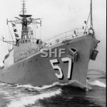 QUEENBOROUGH HMAS, 1942-1972, outbound June 1971_SHF Coll_