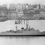 QUEENBOROUGH HMAS, 1942-1972.SHF Coll.