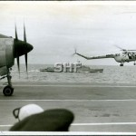QUICKMATCH with Sycamore helo, HMAS MELBOURNE, 1958_GKA_