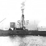 RIPPLE, 1904-1951, RAN waterboat.SHF Coll.
