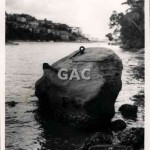 Ring rock, Mosman Bay, 1962