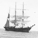 SALAMIS 1874, barque rigged. SHF Coll.