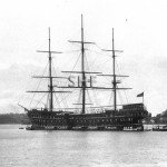 SOBRAON 1866, NSW training ship.later TINGIRA. SHF Coll.