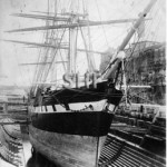SOBRAON 1866, in dock c.1890. SHF Coll.
