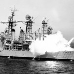 SPRINGFIELD USS, 1944-1978, missile launch.SHF Coll.