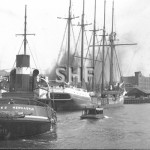 ST.GILES 1919-1956, Newcastle 1925,HUNTER at right. SHF Coll