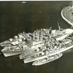 STALWART HMAS with HMASs DUCHESS & YARRA, HMNZS WAIKATO and
