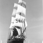 STAR OF INDIA 1863. off San Diego, c. 2000. SHF Coll.
