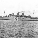 STRATHAIRD 1932-1961, outbound pre-war. SHF Coll.