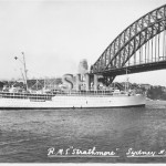 STRATHMORE 1935-1964. outbound. postcard. SHF Coll.
