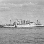 STRATHNAVER 1931-1962 at Fremantle. pre war. SHF Coll.